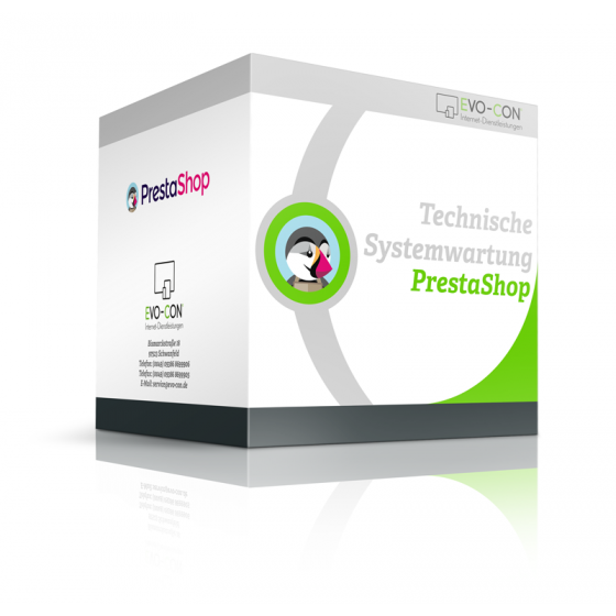 Wartung Shopsystem prestashop