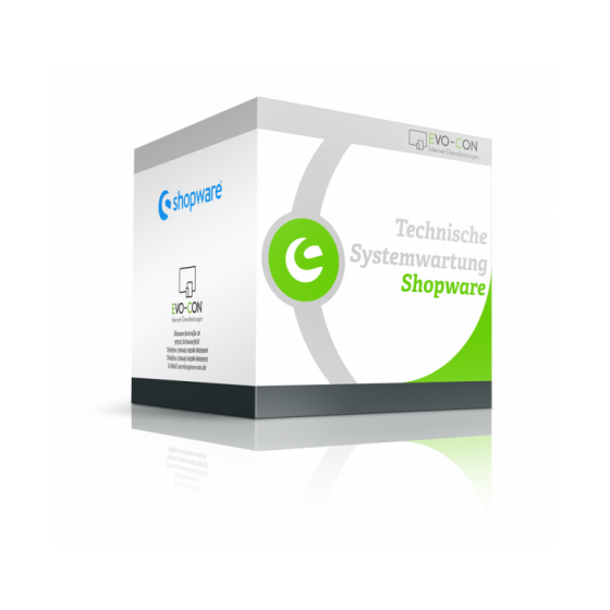 Systemwartung Shopware