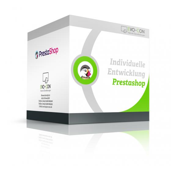 Individuelle Entwicklung Prestashop Modulbox