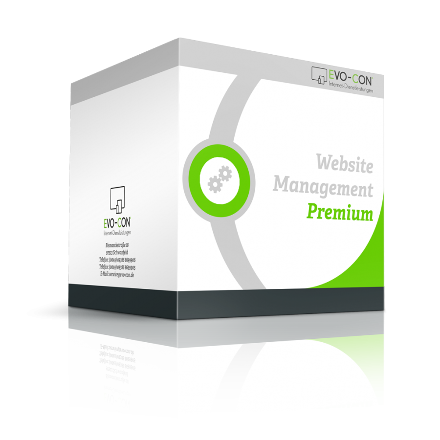 Webseiten Management - Premium Box