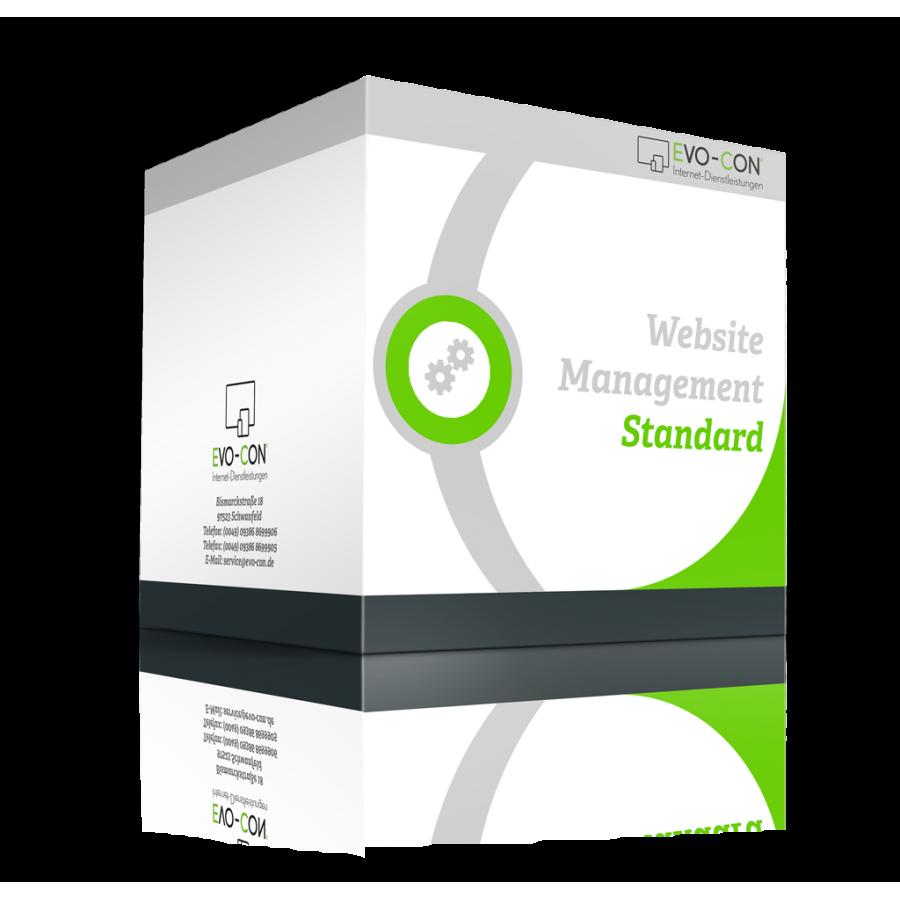 Webseiten Management - Standard Box