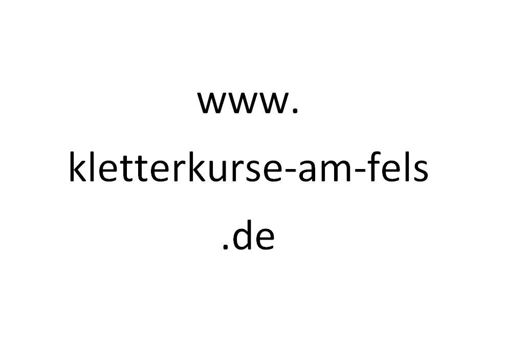 www.kletterkurse-am-fels.de