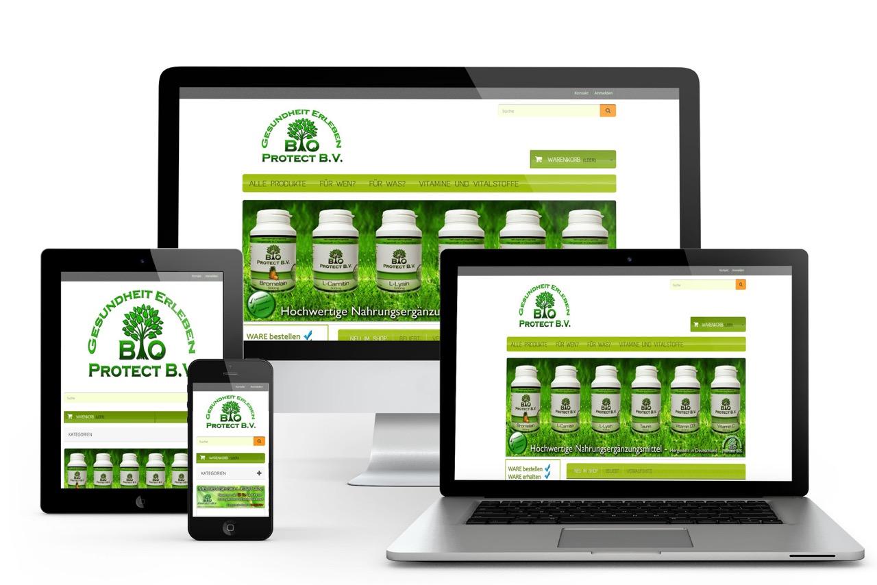 Online Shop Programmierung und Support für Webseite und OnlineShop