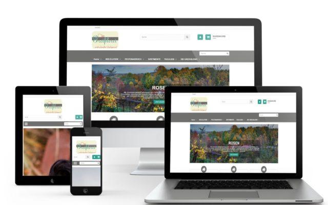 Onlineshop Erstellung PrestaShop und Webseitenoptimmierung mit Wordpress