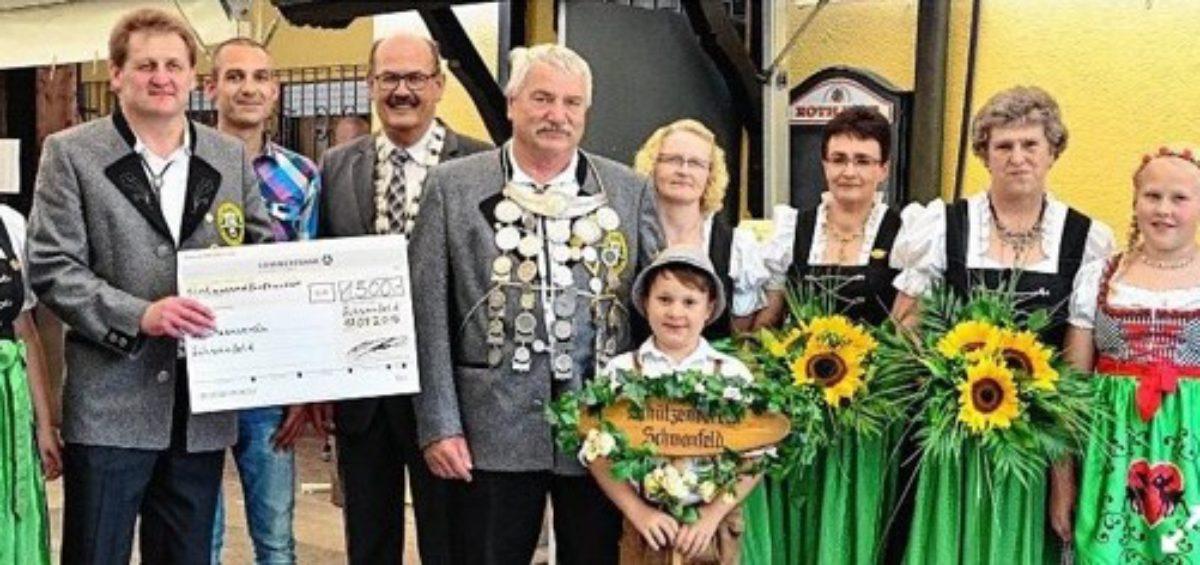 Schützenverein Schwanfeld in zusammenarbeit mit EVO-CON