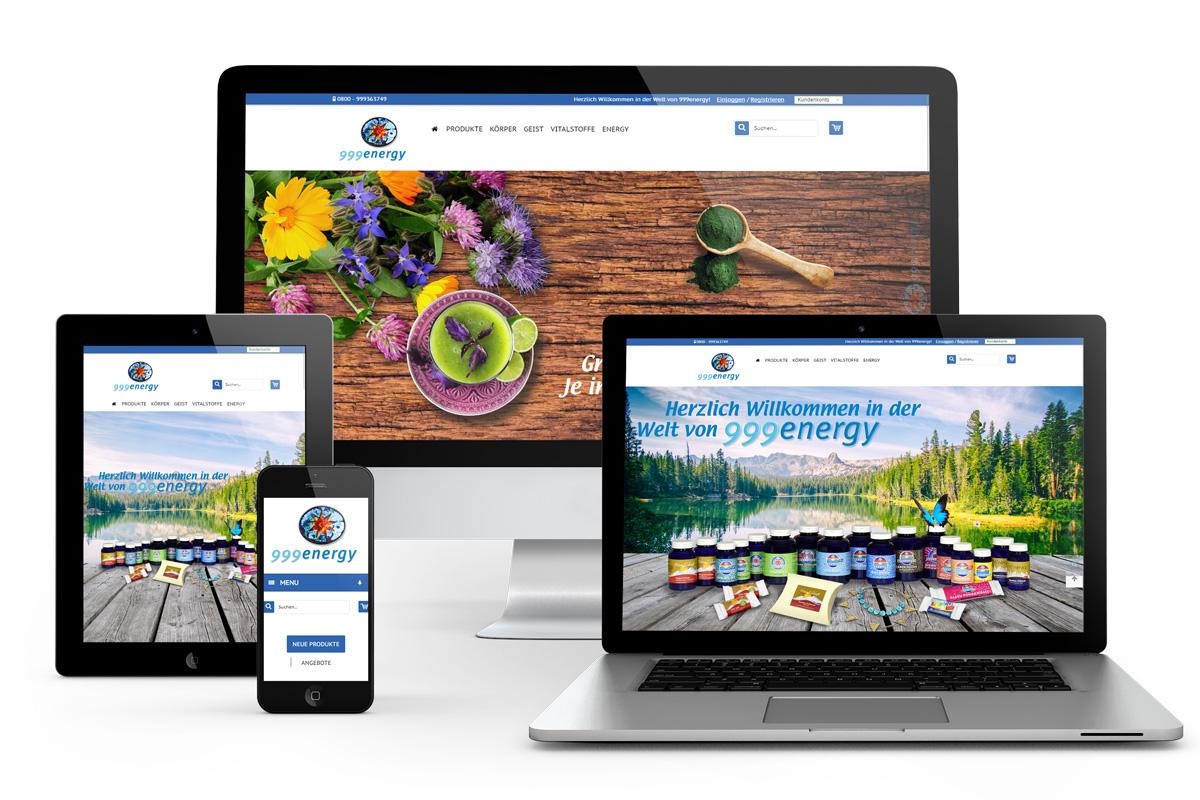 999energy-Webseitensupport-Onlineshop-Programmierung