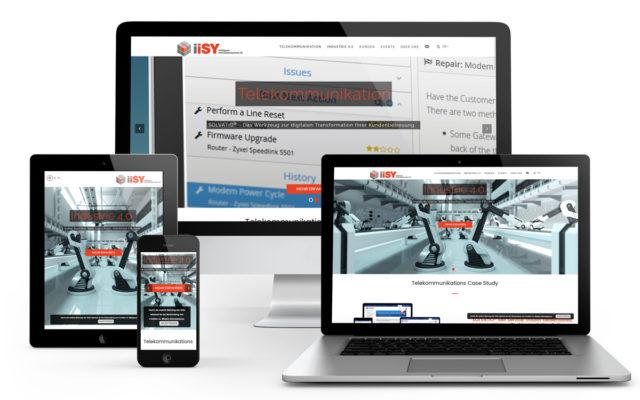 Webseitenerstellung für Iisy durch EVO-CON Wordpress