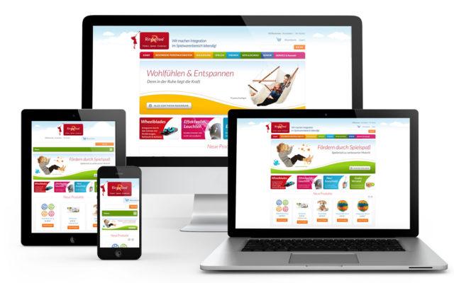 Webseitensupport und Programmierung des Online-Shops sowie support