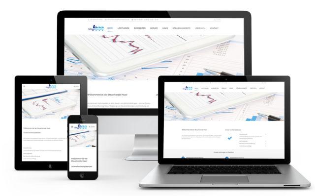 Webseiten-Erstellung durch Wordpress