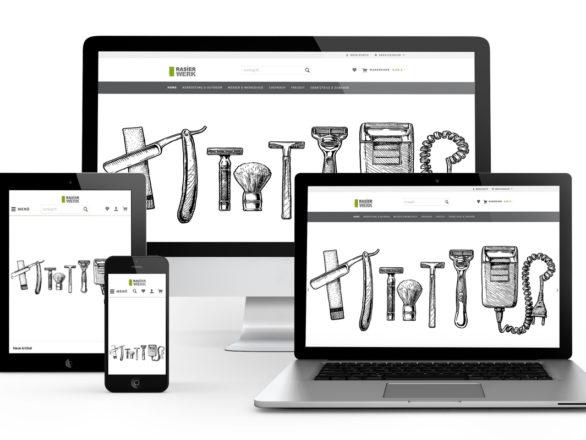 Rasierwerk - Referenz Shopware5