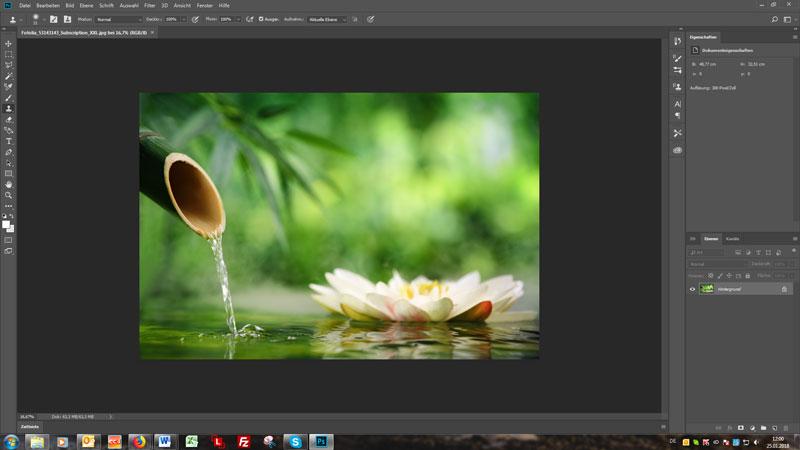 Adobe Bildbearbeitung EVO-CON