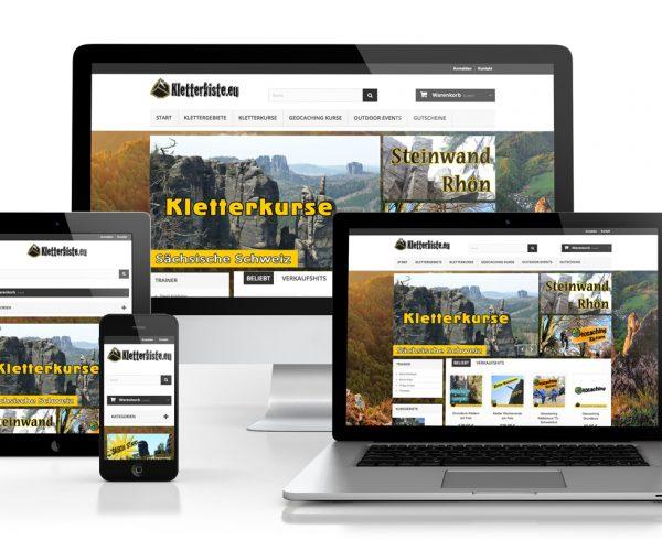 Projektverkauf Online Shop