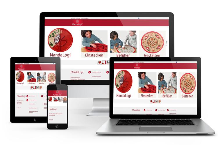 Ref-Mandalogi Online Shop aufbau