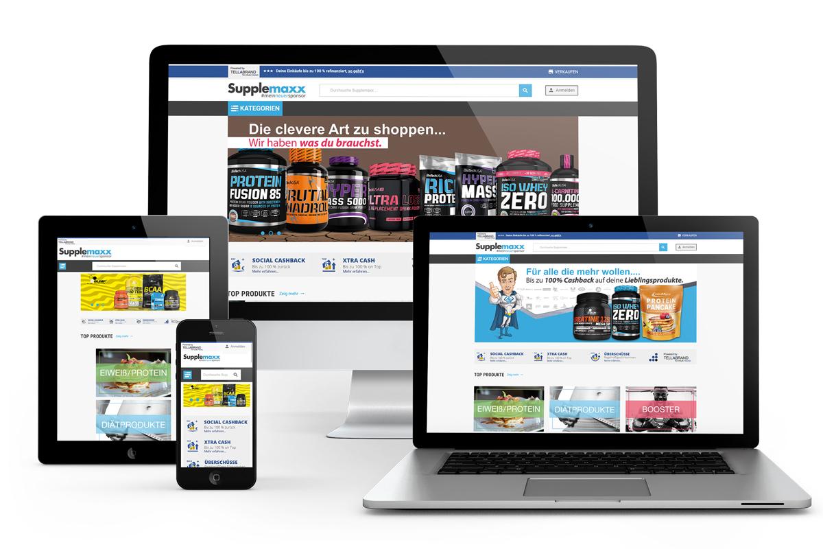 Tellabrand MLM Online Shop Lösung inkl. Programmierung