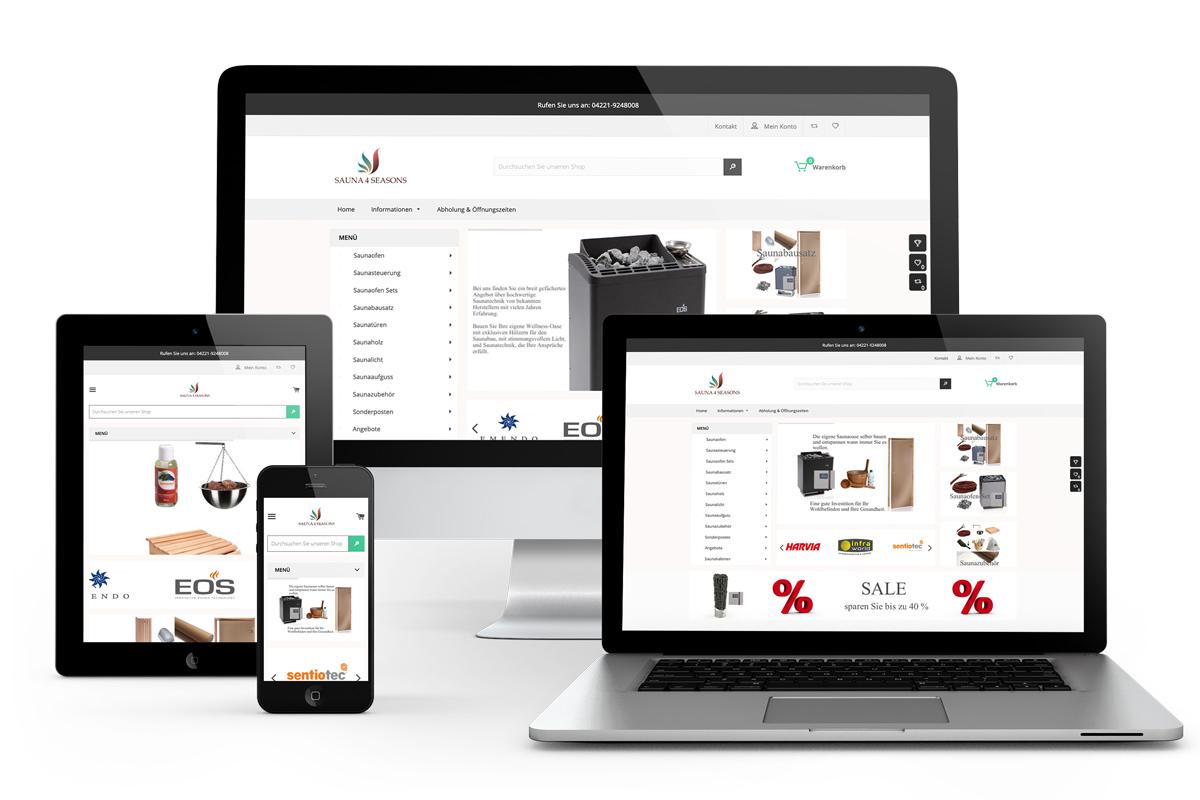 Erstellung Shopify Onlinestore