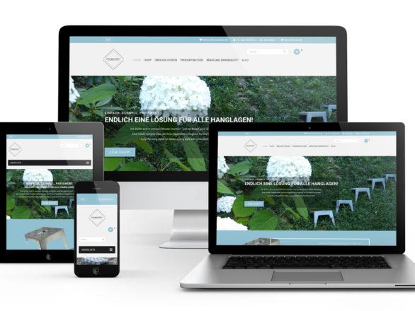 Onlineshop Relaunch Hangstufen