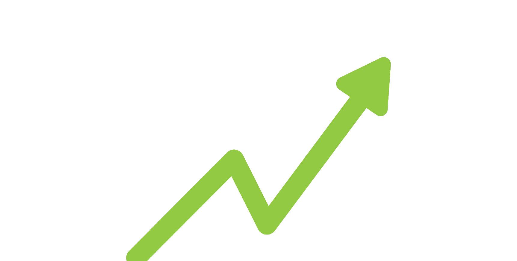 Steigendes Ranking