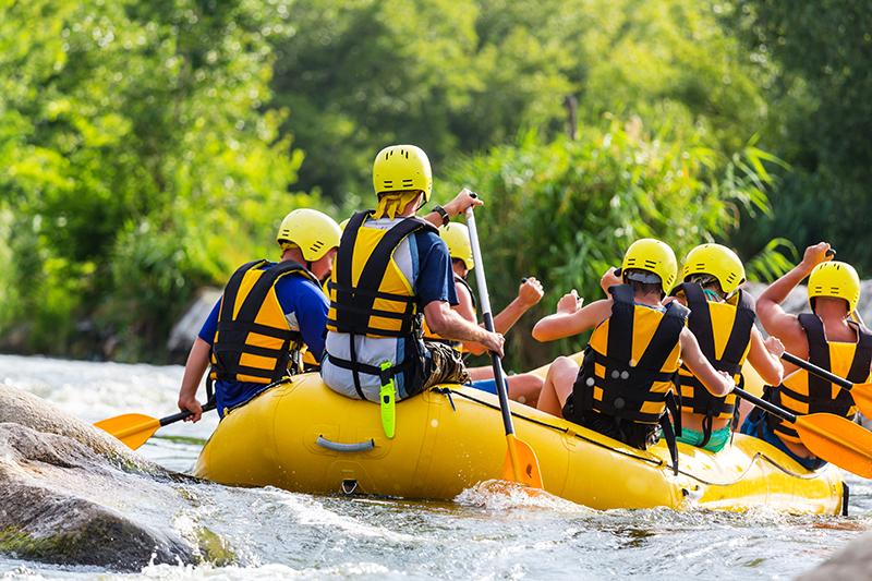 Rafting Freizeitkurs