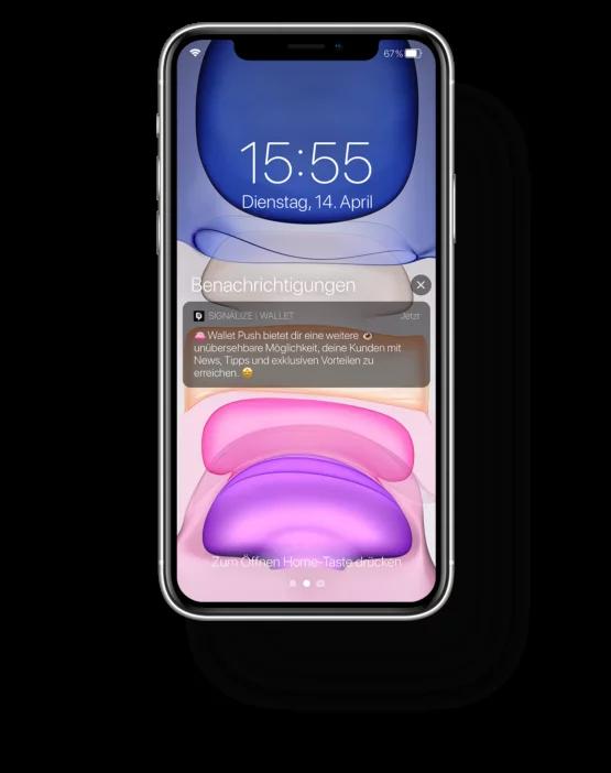 Signalize Push-Notification auf iPhone